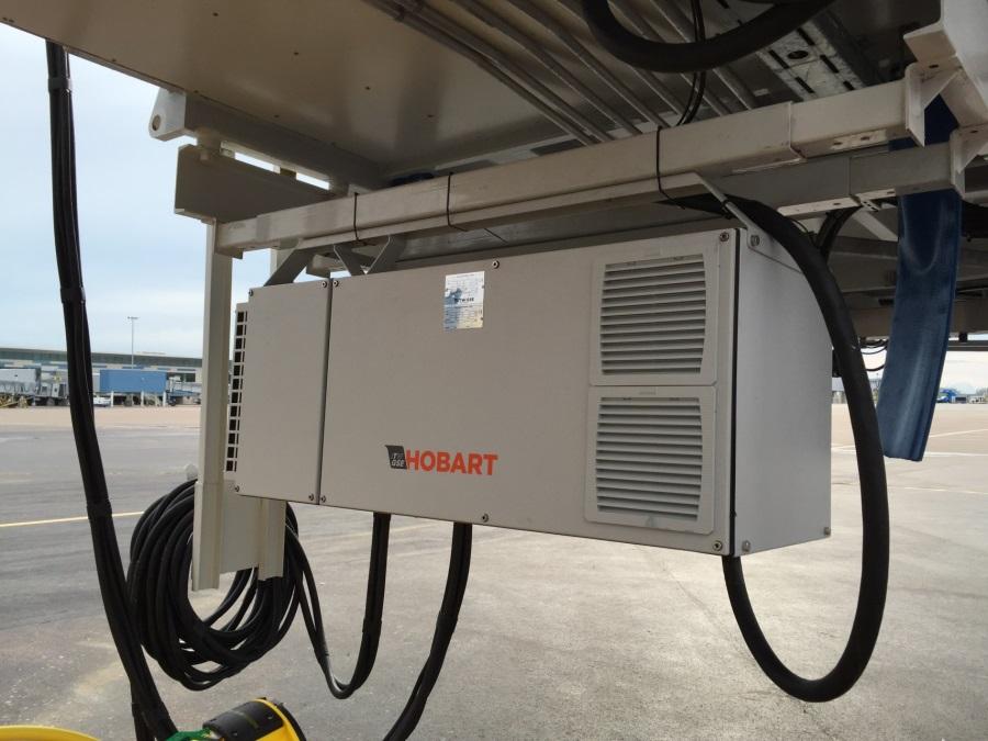 Hobart 2400 90kva Bridge Mount 400Hz Ground Power Solid State Unit