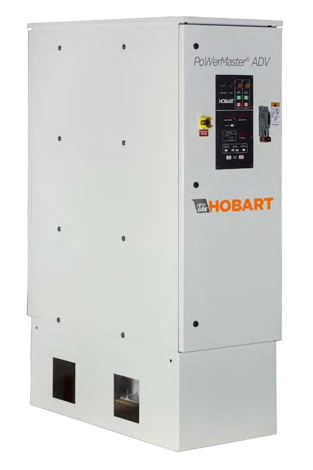 Hobart Powermaster ADV 140/180kVA 115/200 VAC 400Hz Solid State Ground Power unit