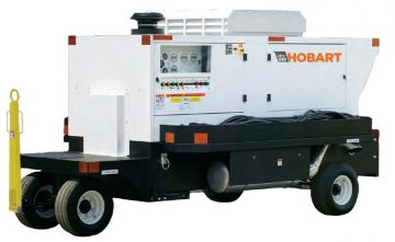 Hobart 140CU20 - 180CU20 140 - 180kVA 115/200 VAC 400Hz Tier 3 Diesel Ground Power Unit