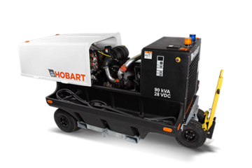 Hobart 4400 60kVA / 90kVA 115/200 VAC 400Hz Tier 3 Diesel Ground Power Unit