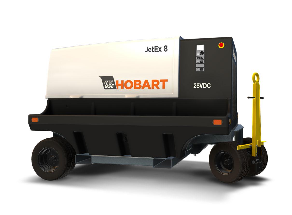 Hobart JetEx 8 28.5 VDC Tier 4 Diesel Ground Power Unit