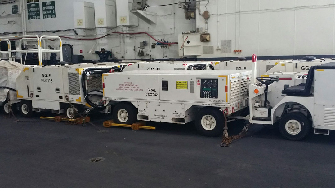 Shipboard Mobile Load Bank for testing-MEPPS-Generators-400Hz-270VDC-28.5VDC
