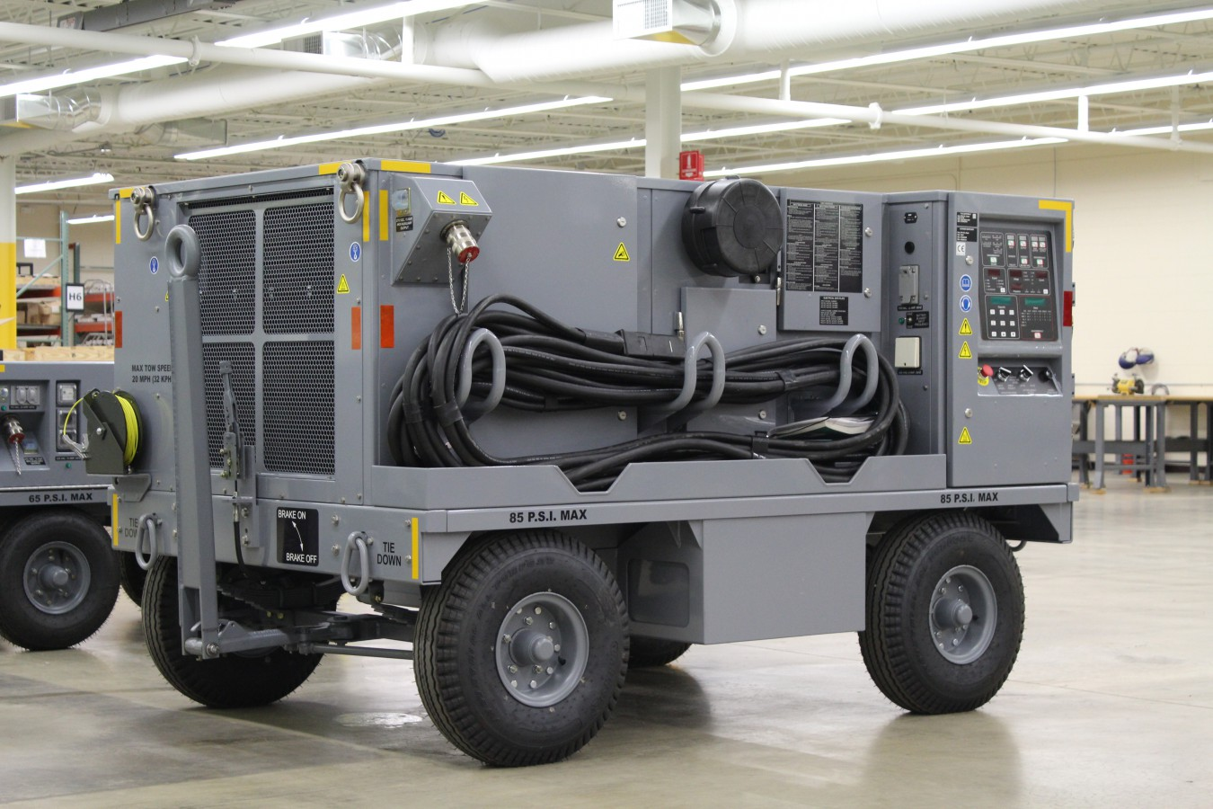 F-35 Diesel Ground Power Unit-Production Line-Lockheed Martin JSF Generator to power up F-35 JSF