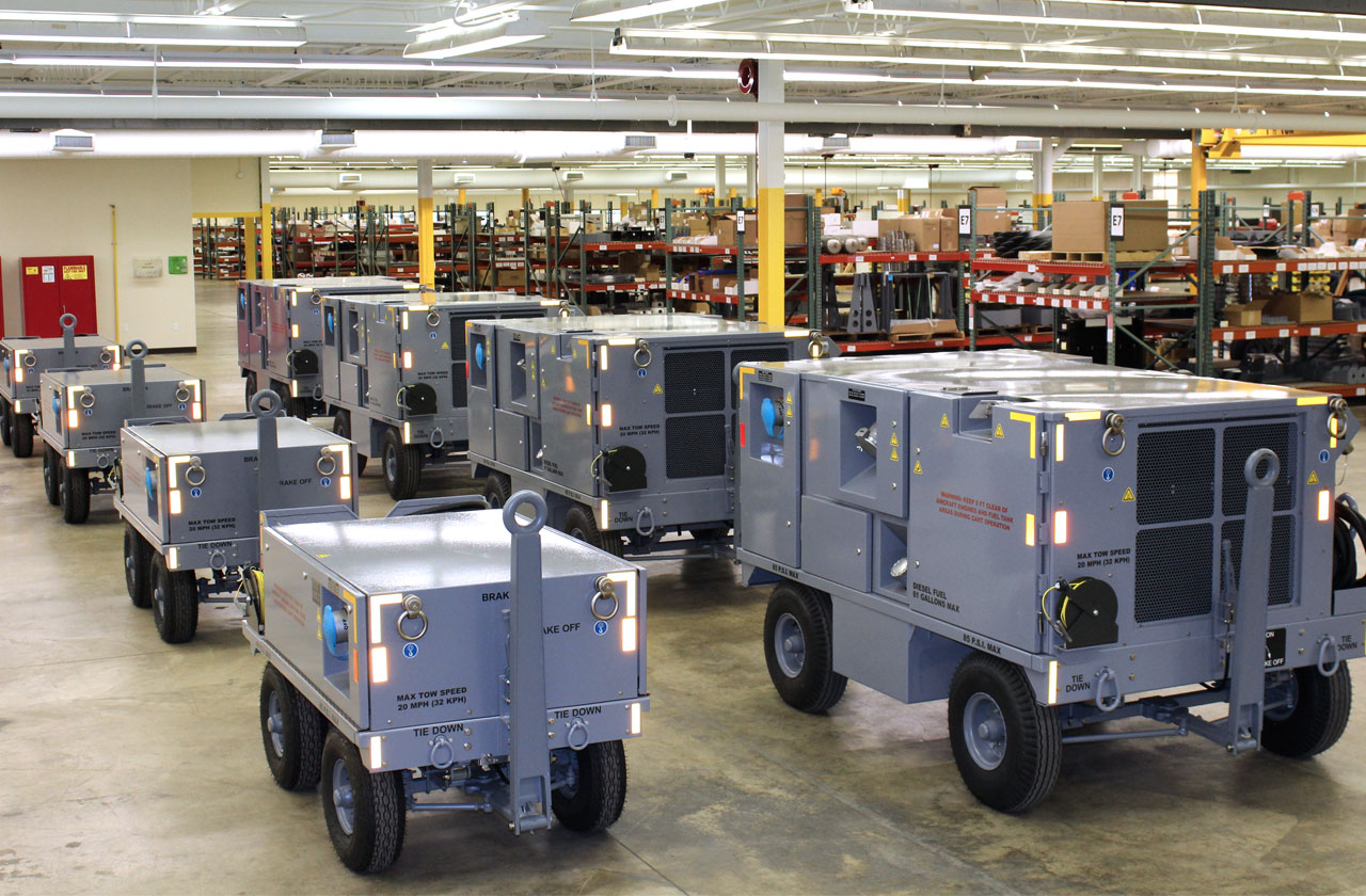 F-35 Electric Ground Power Unit-Production Line-Lockheed Martin JSF-In Service Generator to power up F-35 JSF