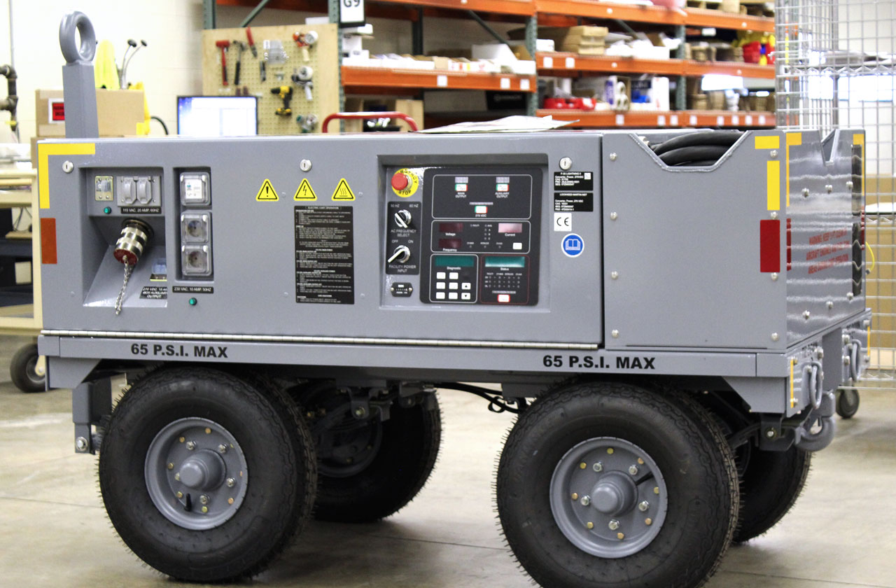 F-35 Electric Ground Power Unit-Production Line-Lockheed Martin JSF-In Service Generator to power up F-35 JSF-Only Authorized Manufacturer for LMCO