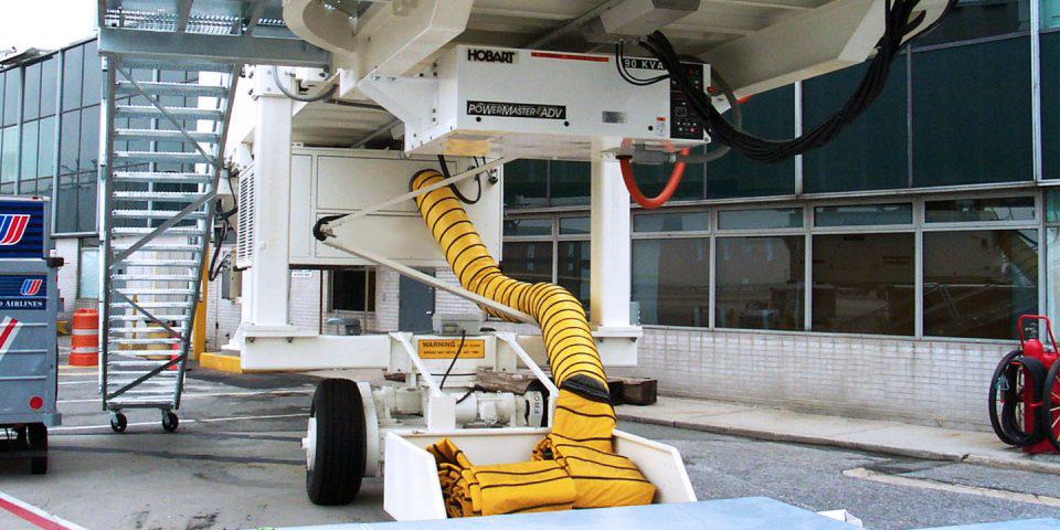 Hobart Gate Power 400Hz-air-conditioning