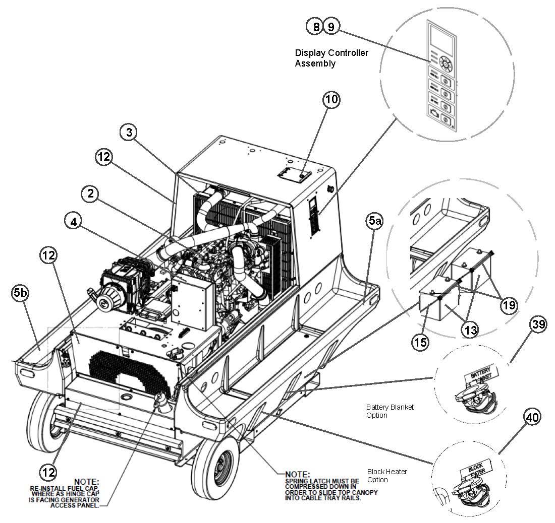 JetEx 8D 28.5VDC Tier 4_Parts View