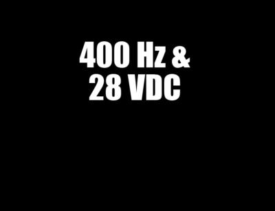 Rental GPU 400Hz & 28 VDC LP